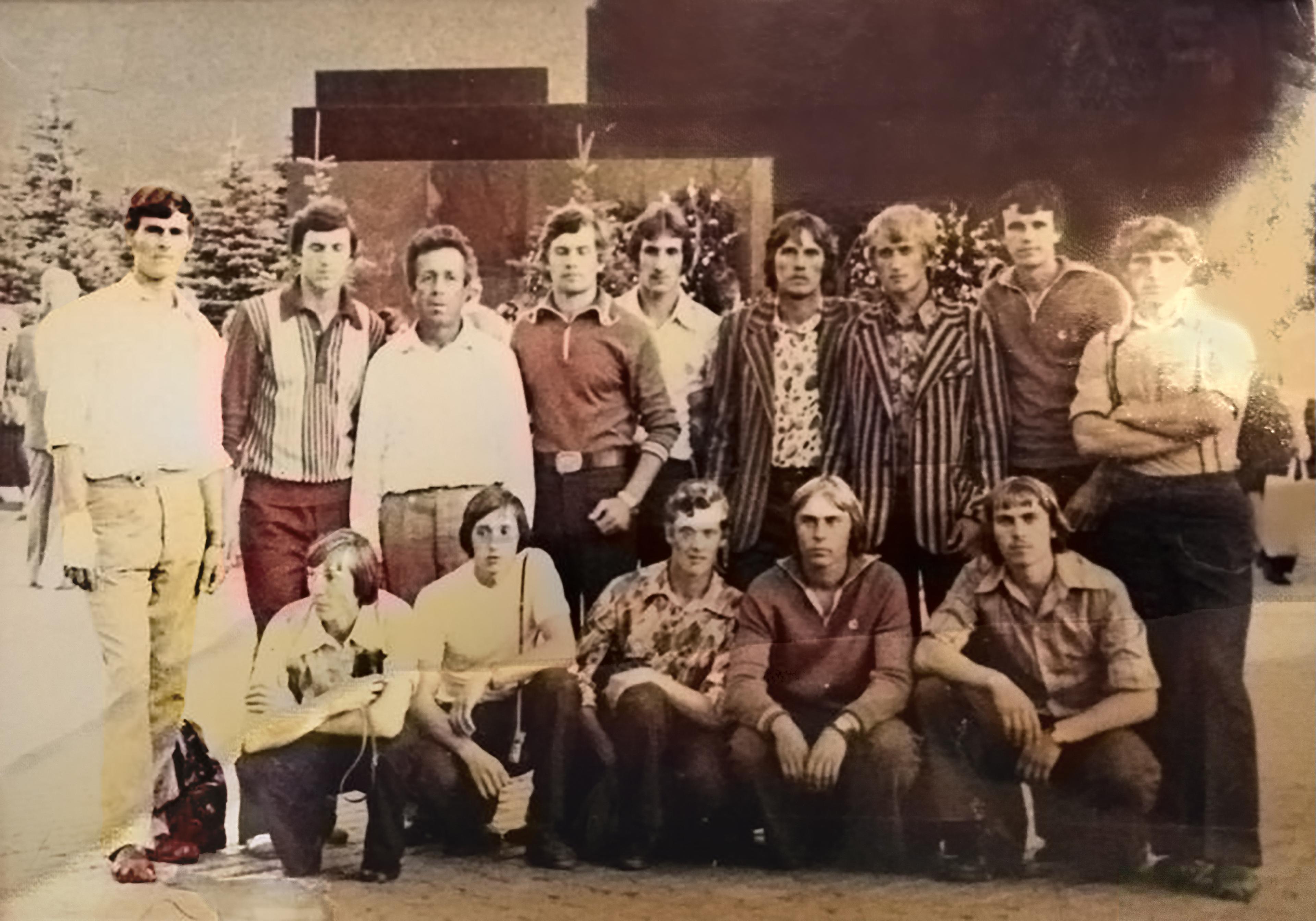 Команда тарских стрелков-спортсменов на Красной площади